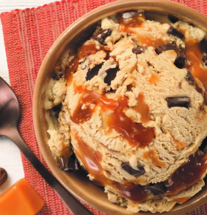 Baskin-Robbins Adds New Non-Dairy Vegan Coffee Caramel Chunk Ice Cream
