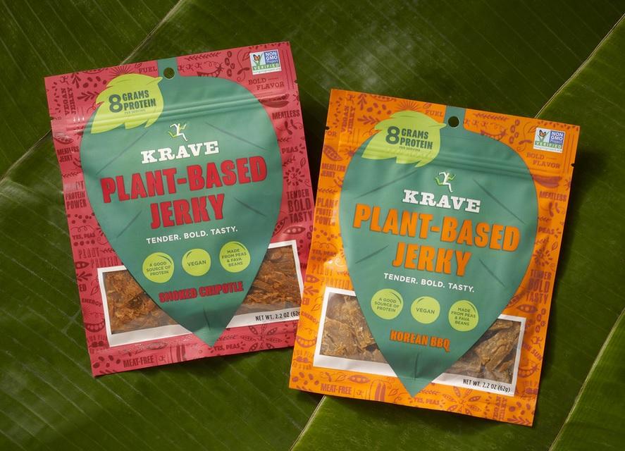 KRAVE New Plant-Based Jerky
