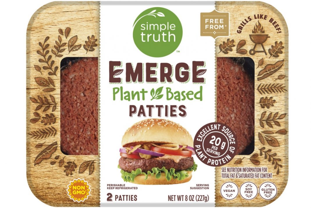 Kroger New Simple Truth Emerge Plant Based Fresh Meats hero