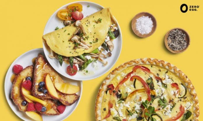 Zero Egg Launches Its Vegan Egg Products In The US