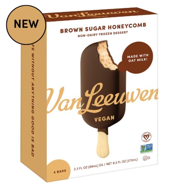 Van Leeuwen Releases New Line Of Vegan Ice Cream Bars